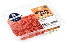 Axfood återkallar 225 kg kalvfärs