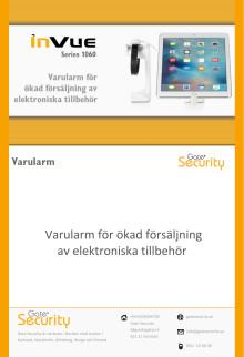 PDF: Varularm för ökad försäljning av elektroniska tillbehör