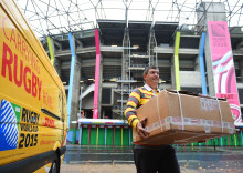 DHL blir officiell logistikpartner för Rugby World Cup 2019
