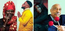 Östafrikanska ikoner, nigeriansk superstjärna och årets nykomling på Grammisgalan till Selam Festival Stockholm 8-10 mars!