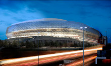 New major venue: Tele2 Arena, will open in summer 2013