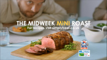 Beef and lamb mini-roasts hit the small screen