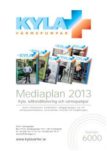 Mediaplan KYLA+ Värmepumpar 2013