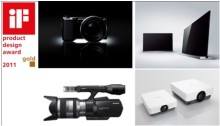 Sony Design Triumphant with Four Top Honours