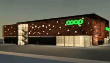 Wästbygg bygger Coopbutik och tennishall i Tumba