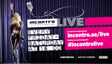 Premiär för Incontro LIVE