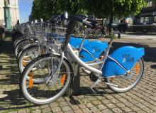 Nu finns Styr & Ställ-cyklarna året runt i Göteborg