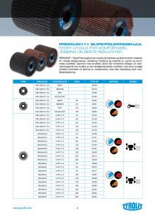 Produktinfo TYROLIT slipe- og poleringshjul