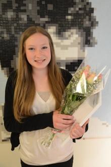 Fanny Grönlund är Nyköpings elevkock 2014