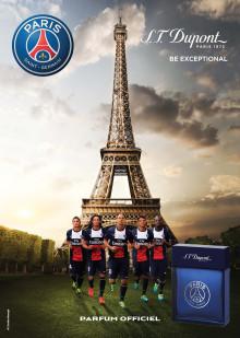 Endast på Åhléns - Paris Saint-Germain släpper Eau de Toilette