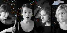 Glad i magen, arg i tårna – Malvakvartetten sätter känslorna i gungning