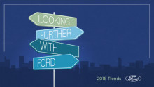 Fords Trend Report 2018 - 10 vigtige tendenser