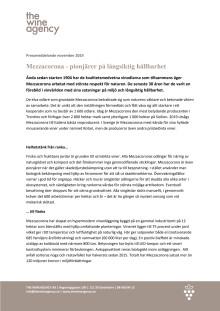 Hållbarhetsarbete Mezzacorona