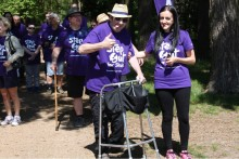 Anna Richardson calls on residents in Eastbourne to take a Step Out for Stroke