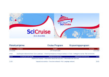 SciCruise 2018 program
