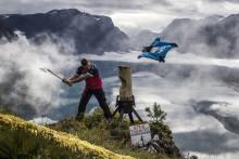 Timbersports møter vingeflyging