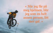 Med OL i sikte -  Lars Ole Hetland har høytflygende planer.