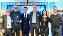 Sigma och Dr. Johan Permert från Karolinska vann pris vid Microsofts konferens om e-hälsa och artificiell intelligens