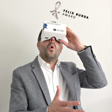 Felix Burda Award goes Virtual Reality. Jetzt lizenzfreies Footage downloaden!