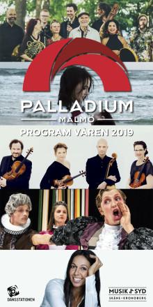 Musik i Syd presenterar: Ale Möller med XenoMania!, Rigmor Gustafsson, Scott Hamilton & Jan Lundgren Kvartett – det är några av godbitarna i vårens program på Palladium Malmö