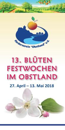 Blütenfestbroschüre - 13. Blütenfestwochen 2018