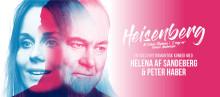 """Hyllade föreställningen """"Heisenberg"""" av Simon Stephens sätts upp i Sverige!"""