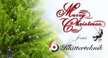 Klätterteknik AB wishes you a merry christmas!