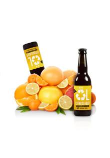 Urban Delis nya öl - citruslager gjord av överblivna frukter