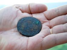 Silvermynt första fynden från skeppet Mars