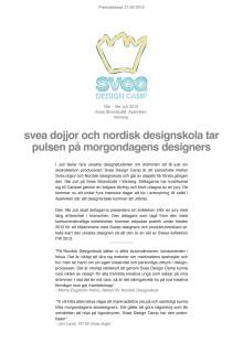Svea Design Camp
