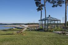 Hornuddens Trädgård blir ambassadör för Skånska Byggvaror och inviger utställning om växthus och uterum