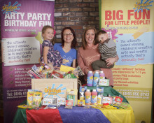 Mum to 2 Debbie McGovern wins £200 worth of Creation Station goodies