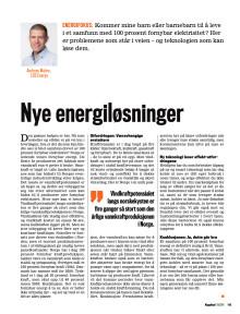Presseklipp Kapital 2016 #19: Nye energiløsninger