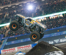 Monster Jam är tillbaka. Line up Friends Arena 8 november