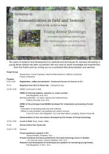 2013-11-06 Invitation to Demonstration and Seminar