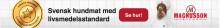 Sveriges första livsmedelscertifierade hundmat!