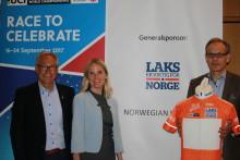 Laksenæringen blir generalsponsor til Sykkel-VM