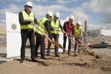 Bygget av HSB Sportsbyn påbörjat