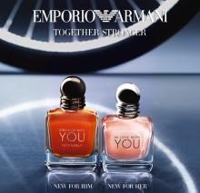 Intensiivinen rakkaustarina — Emporio Armani Together Stronger -tuoksut