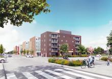 Nyproduktion av 444 lägenheter i Uppsala
