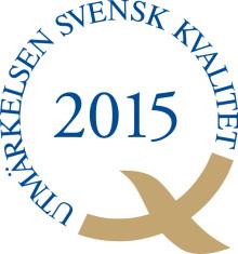 Pressinbjudan: Ceremoni - Utmärkelsen Svensk Kvalitet 2015 på Volvo Car Torslanda den 23 mars