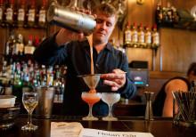 O.P. Anderson lär amerikanska bartenders om hantverksmässigt tillverkad akvavit.