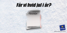 Hobbymetrolog? Danske Spil sætter odds på hvid jul