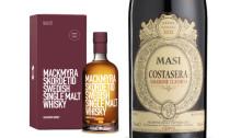 Originalamarone släpps i unik 5 litersflaska –faten gav smak till Mackmyrawhisky