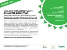 Pressinbjudan EcoDataCenter 26 februari
