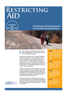 AIDA Restricting Aid Executive Summary