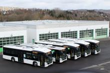 Fünf Scania Hybridbusse für RVE in Sachsen