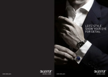 LED desk top lamp_Leitz Style range folder