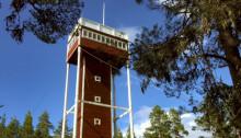 Nytt utsiktstorn byggs vid Naturum i Siljansnäs