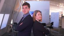 Jack Werner och Åsa Larsson leder UR:s nya program om källkoll i coronatider